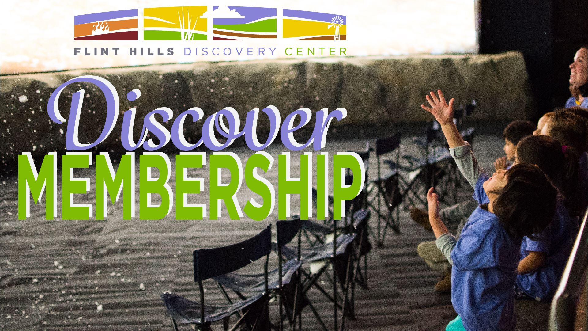 Discover Membership at the Flint Hills Discovery Center