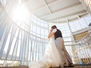 Wedding at Flint Hills Discovery Center