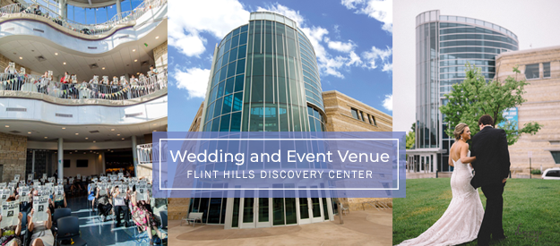 Flint Hills Discovery Center, event venue in downtown Manhattan, Kansas