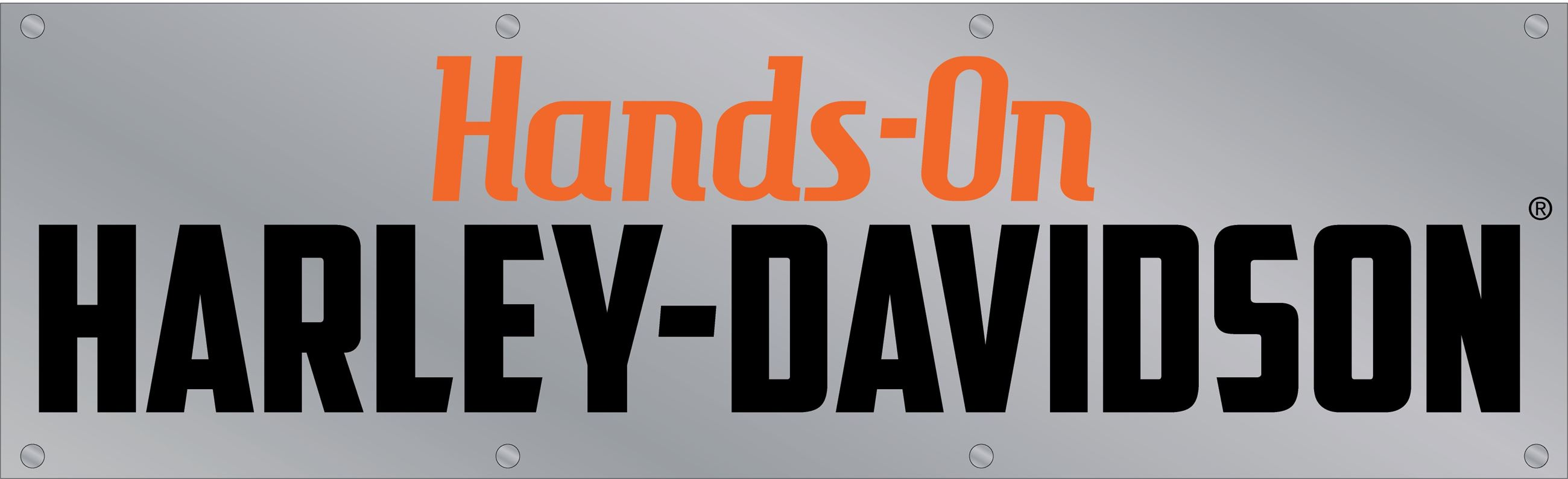 Hands-On Harley-Davidson exhibit logo