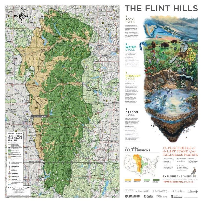 Flint Hills Map